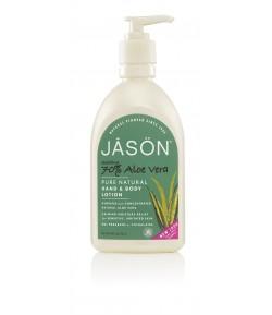 Kojąco - nawilżający balsam do ciała 70% Aloes - Jason 450 g