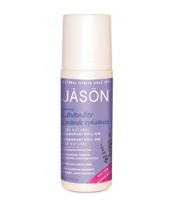 Łagodzący dezodorant Roll on Lawenda - JASON 89 ml.