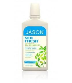 Wzmacniający płyn do płukania jamy ustnej Sea Fresh - Jason 473 ml