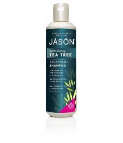 Normalizujący szampon z olejkiem z drzewka herbacianego - JASON 517 ml