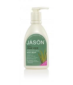 Kojąco-nawilżający żel pod prysznic Aloe Vera - JASON 887 ml