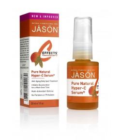 Przeciwstarzeniowe i rozjaśniające serum z witaminą C - Jason 30 ml