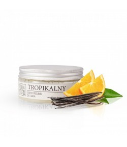 Solny Peeling do ciała - Tropikalny - Fresh&Natural 250g
