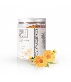 Rozgrzewająca sól do kąpieli z Nagietkiem, Cynamonem i Pomarańczą - Fresh&Natural 500g