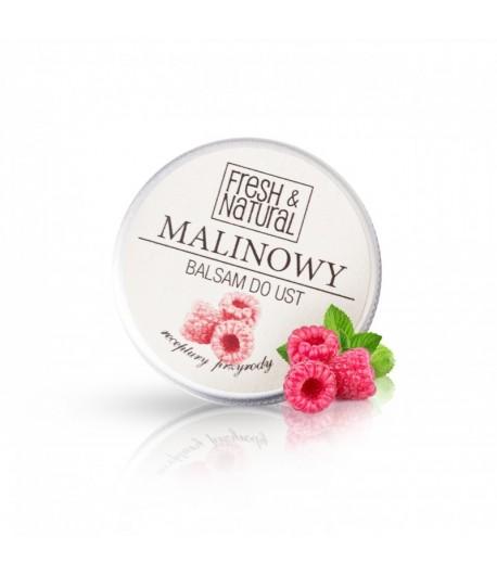 Malinowy balsam do ust - Fresh&Natural 15 ml