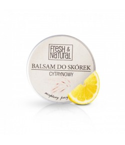 Cytrynowy balsam do dkórek i paznokci - Fresh&Natural - 15 ml