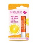 Naturalny Balsam do ust POMARAŃCZOWY – Benecos 4,8 g