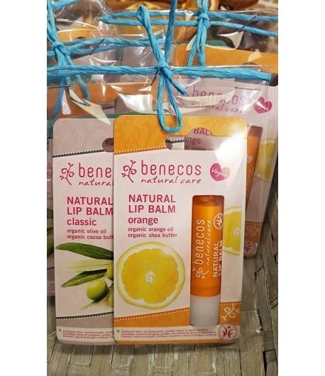 Zestaw balsamów do ust 3 w cenie 2 - Benecos 3x4,8 g