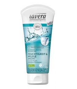 Nawilżająca odżywka do włosów BASIS SENSITIV z bio-mleczkiem migdałowym i bio-awokado - Lavera 200 ml