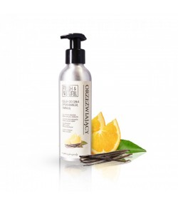 Orzeźwiający olejek do ciała z pomarańczą i wanilią - Fresh&Natural 150ml