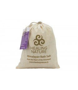 Sól himalajska do kąpieli z lawendą - Healing Nature 1 kg