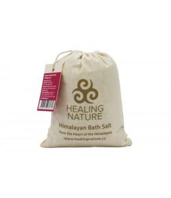 Sól himalajska do kąpieli z różą - Healing Nature 1 kg