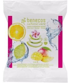 Chusteczki oczyszczające - Benecos 25 szt.