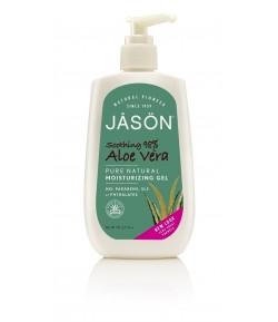 Kojąco - nawilżający żel do ciała i twarzy 98% Aloes - JASON 227 g