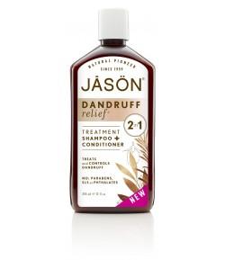 Kuracja przeciwłupieżowa - szampon i odżywka 2w1 - JASON 355 ml