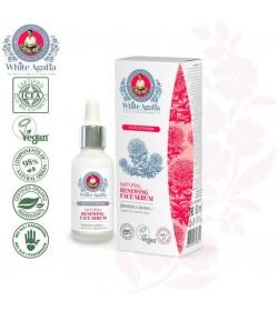 Naturalne odnawiające serum do twarzy - przedłużenie młodości - White Agafia 30 ml