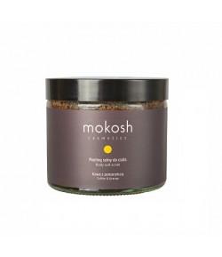 Peeling solny do ciała Kawa z Pomarańczą - MOKOSH 300 g