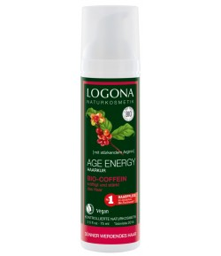 Wzmacniające serum do włosów (bez spłukiwania) Age Energy z bio-kofeiną - Logona 75 ml