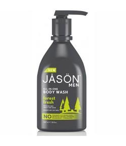 Odświeżający żel myjący Forest Fresh do ciała twarzy w i włosów 3w1 - JASON 887 ml
