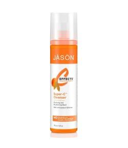 Przeciwstarzeniowy i rozjaśniający płyn do mycia twarzy z witaminą C - Jason 177 ml