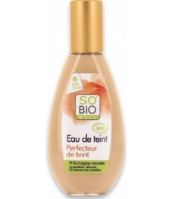 Nawilżający podkład w płynie 5 w 1 beige nude 01 - SO'BiO Etic 30 ml