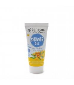 Odżywczy żel pod prysznic z rokitnikiem i pomarańczą Mini - Beneco 30 ml