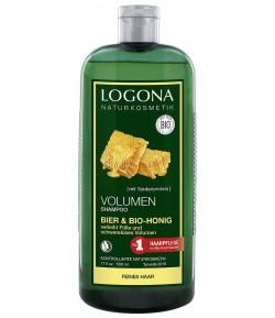 Szampon zwiększający objętość Piwno - Miodowy - Logona 250 ml