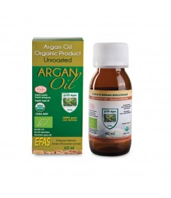 Olej Arganowy - 60 ml Efas butelka szklana