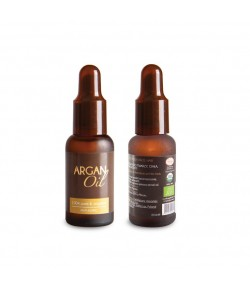 Olej Arganowy z pipetą - 50 ml (butelka z ciemnego szkła)