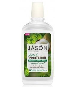 Płyn do płukania jamy ustnej z olejem kokosowym - Jason 474 ml