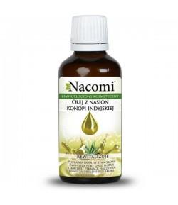 Zimnotłoczony Nierafinowany Olej z Nasion Konopi Indyjskiej - Nacomi 50 ml