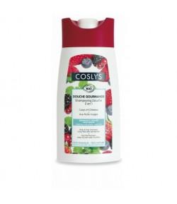 Witaminizujący szampon i żel pod prysznic 2w1 z czerwonymi owocami - Coslys 250 ml