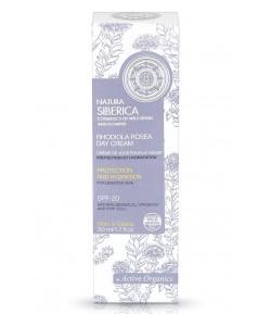 Krem na dzień dla bardzo wrażliwej skóry - Ochrona i Nawilżenie SPF20 - Natura Siberica 50 ml