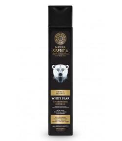 Orzeźwiający żel pod prysznic - BIAŁY NIEDŹWIEDŹ - Natura Siberica Men 250 ml