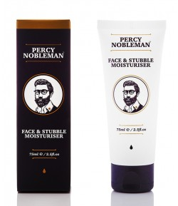 Face & Stubble Moisturiser Krem do twarzy i zarostu - Percy Nobleman 75ml