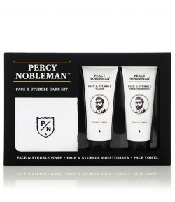 Zestaw Face & Stubble - Percy Nobleman