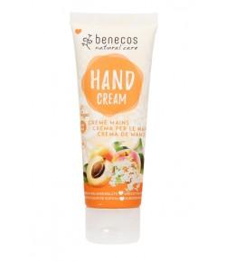 Naturalny krem do rąk z morelą i czarnym bzem - Benecos 75 ml