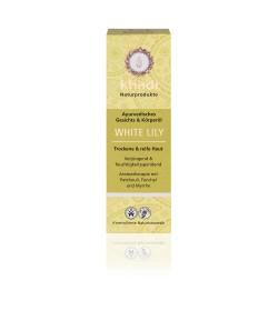 Biała Lilia - ajurwedyjski olejek do twarzy i ciała - Khadi 100ml