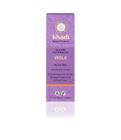Fiołek - ajurwedyjski olejek do twarzy i ciała - Khadi 100ml