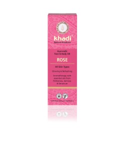 Róża -ajurwedyjski olejek do twarzy i ciała - Khadi 100ml