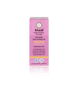Różowy Lotos - ajurwedyjski olejek do twarzy i ciała - Khadi 10ml