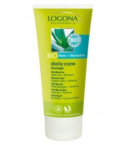 Żel pod prysznic z bio-aloesem i werbeną - 200 ml Logona